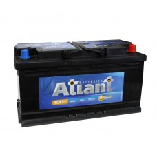 ATLANT BLACK 100Ач R+ EN760A 353x175x190 ZLN5066U681B0 B13